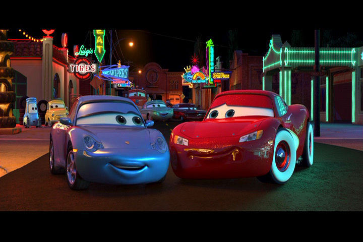 Justin's Kartoon Korner!: Pixargust: Cars (2006