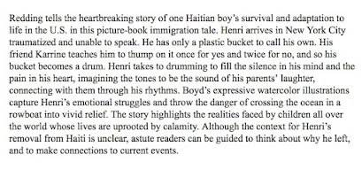 Booklist Review wonderful too!
