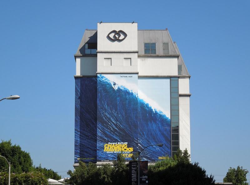 Chasing Mavericks billboard Sofitel Hotel