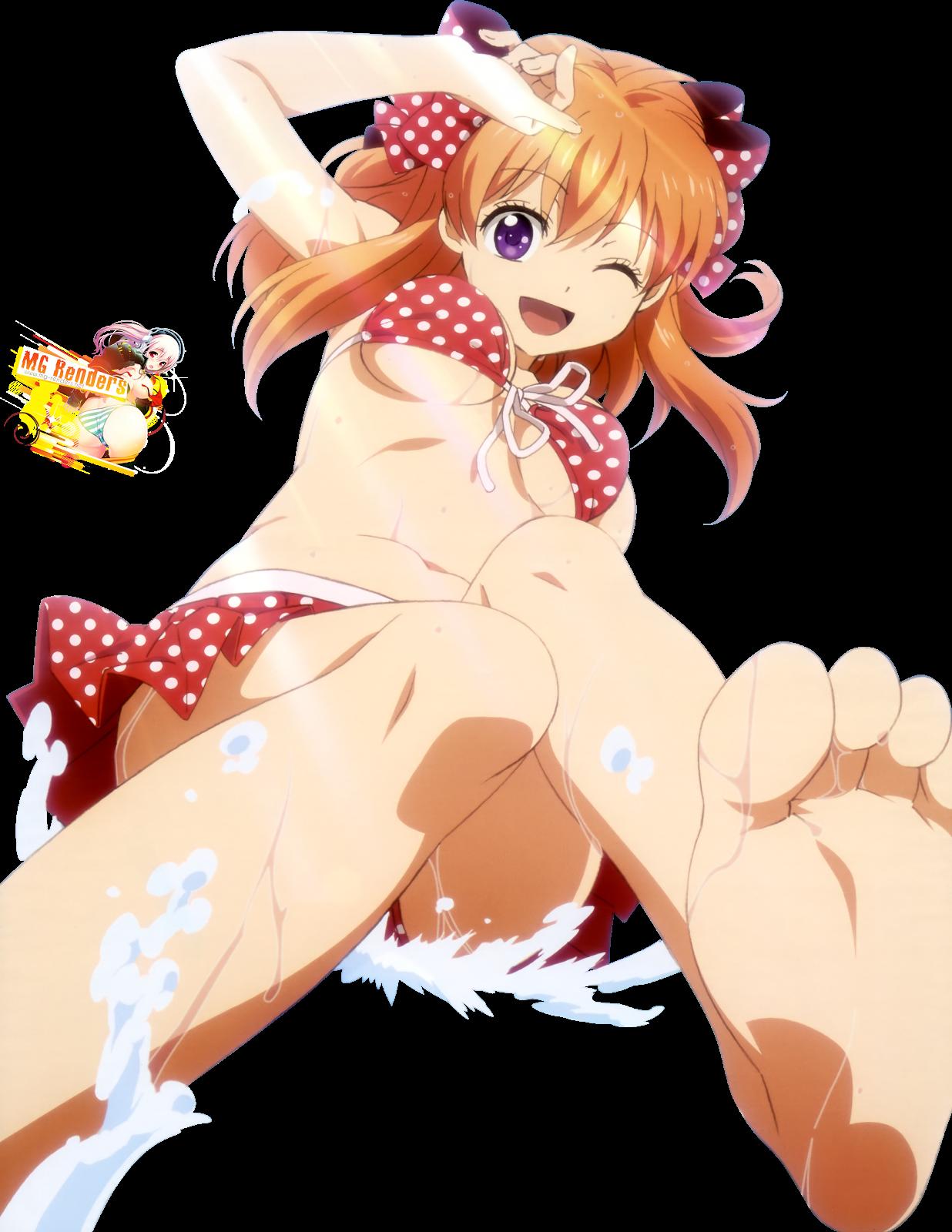 Tags: Anime, Render,  Feet,  Gekkan Shoujo Nozaki-kun,  Sakura Chiyo,  PNG, Image, Picture