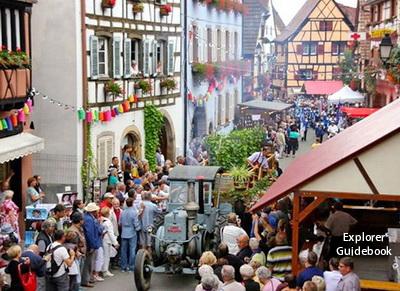 Eguisheim festival