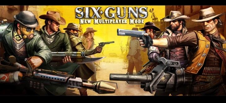 لعبة الاندرويد - Six Guns