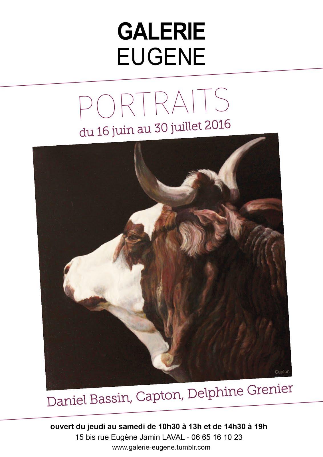 """LAVAL : """"PORTRAITS"""" EXPOSITION D'ART ANIMALIER À LA GALERIE EUGÈNE JUSQU'AU 30 JUILLET 2016"""
