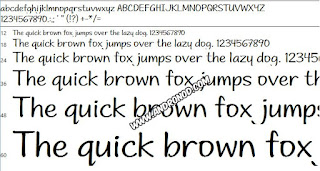 Andrea Print Upright Fonts