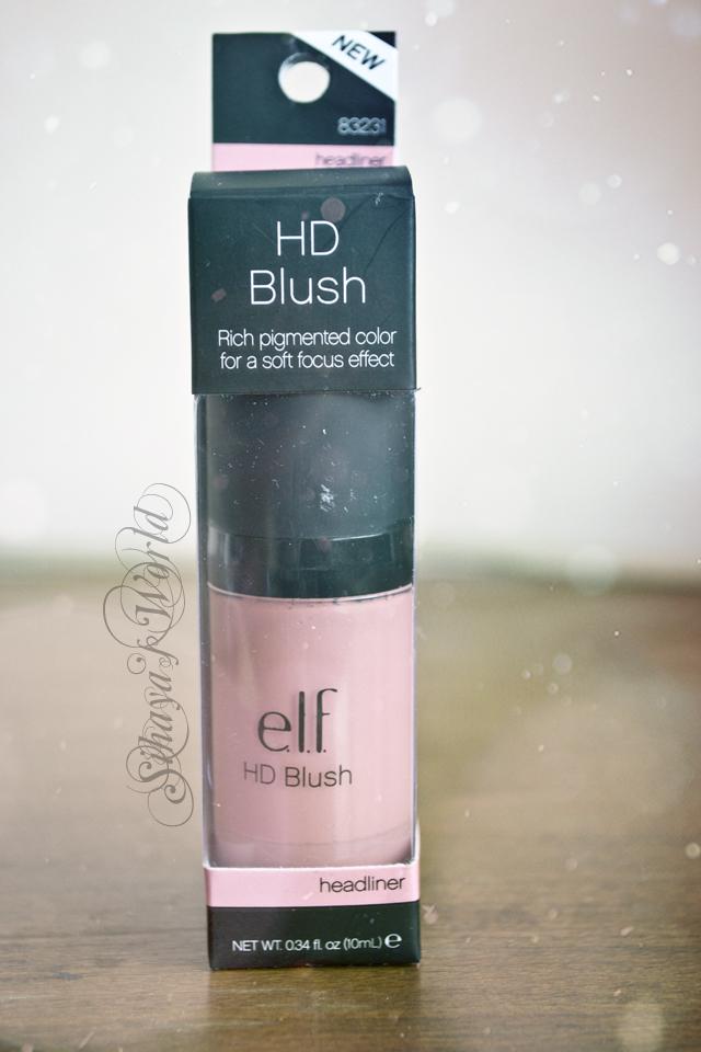 Elf Studio HD Blush 0.34 oz/10 ml 3.99$