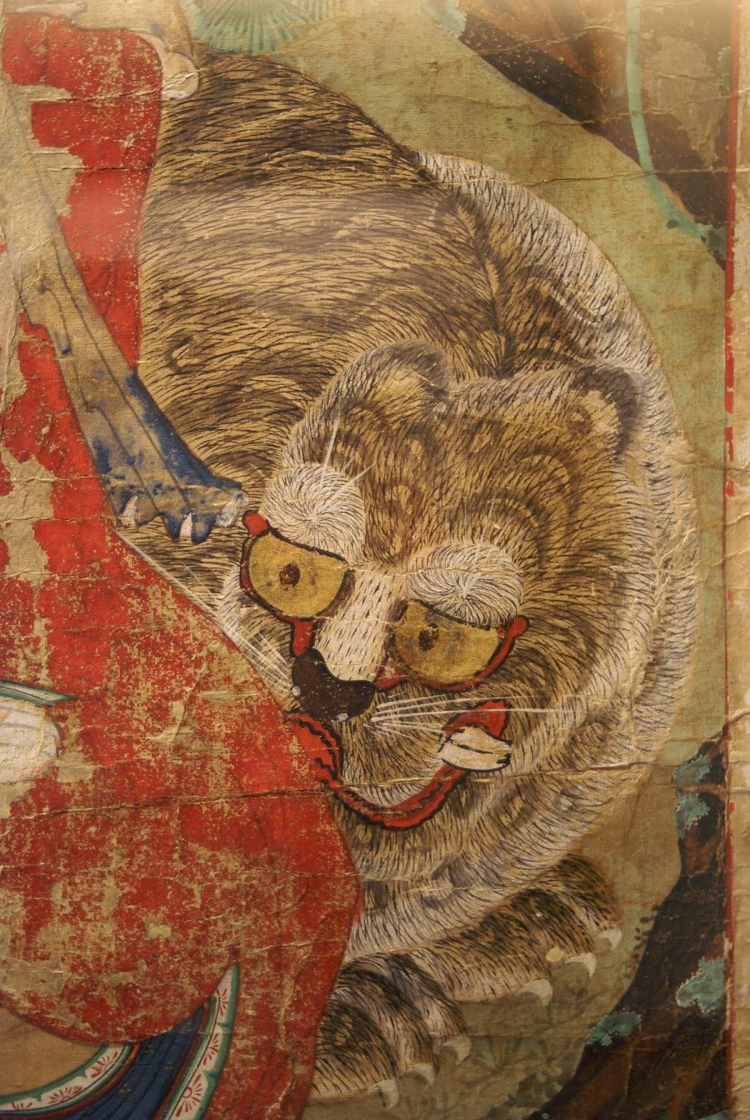 Tigre Coréen musée Guimet