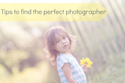 choosing a professional photographer