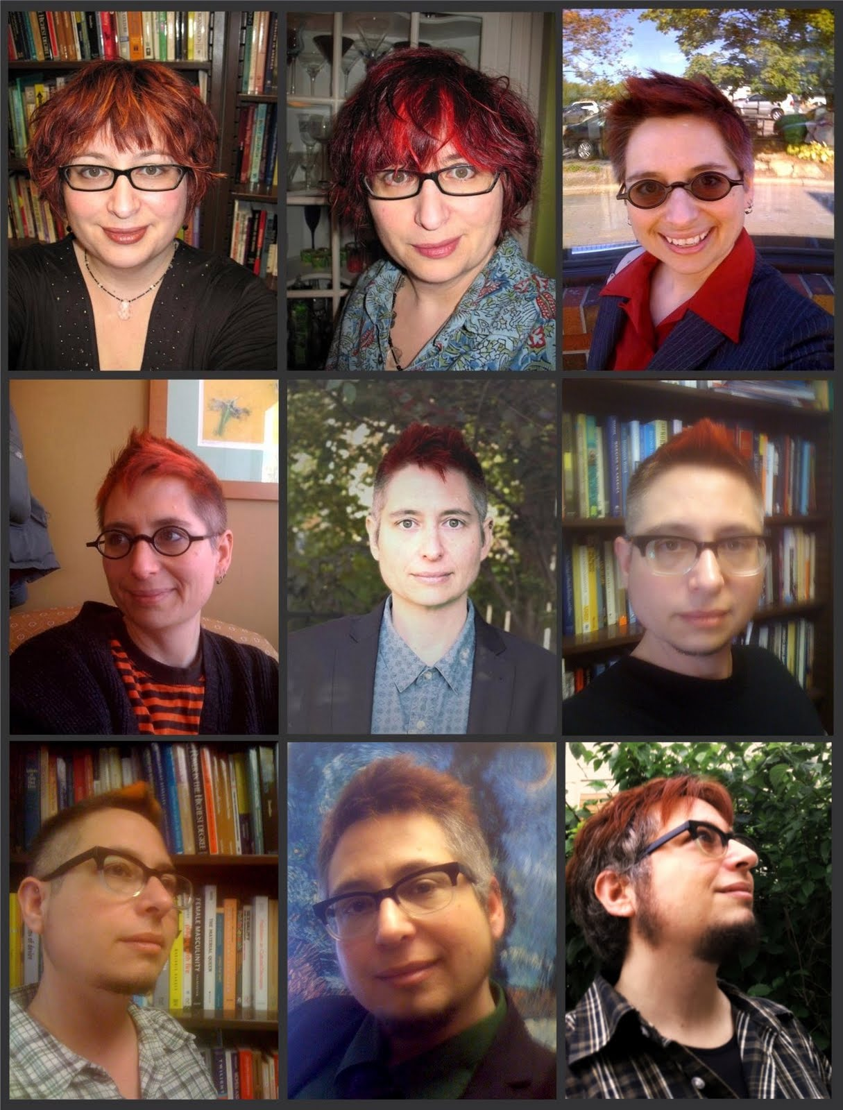 Photos of My Gender Transition