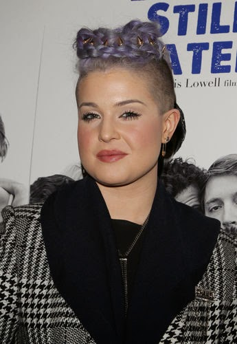 Kelly Osbourne has a new hairstyle