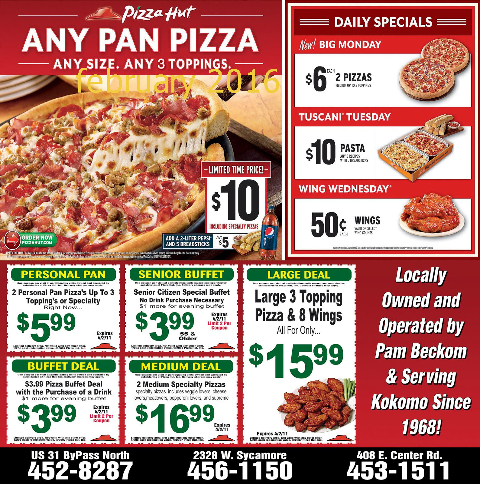 Pizza hut coupon code october 2019