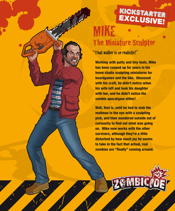 Zombicide personajes MIKE