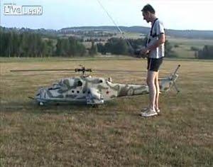 Модель вертолета своими руками