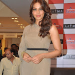 Bipasha Basu Sexy Legs Show as She Promotes Film 'AATMA'  At Reliance Trends in Mumbai