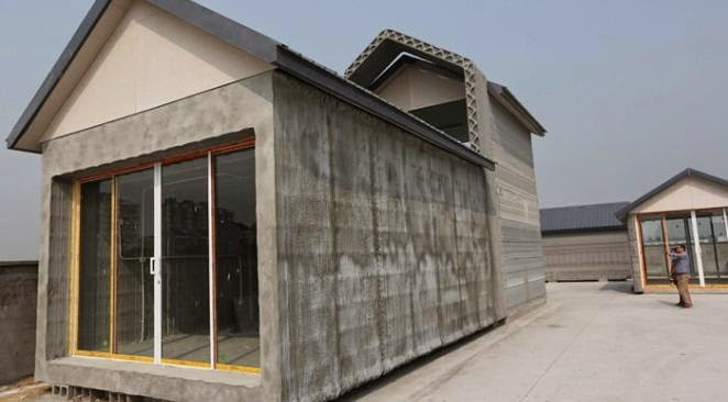 3D printing, Chinese factory built a house in 3D, house in 3D for 3500 dollars, 3D houses, new tech,