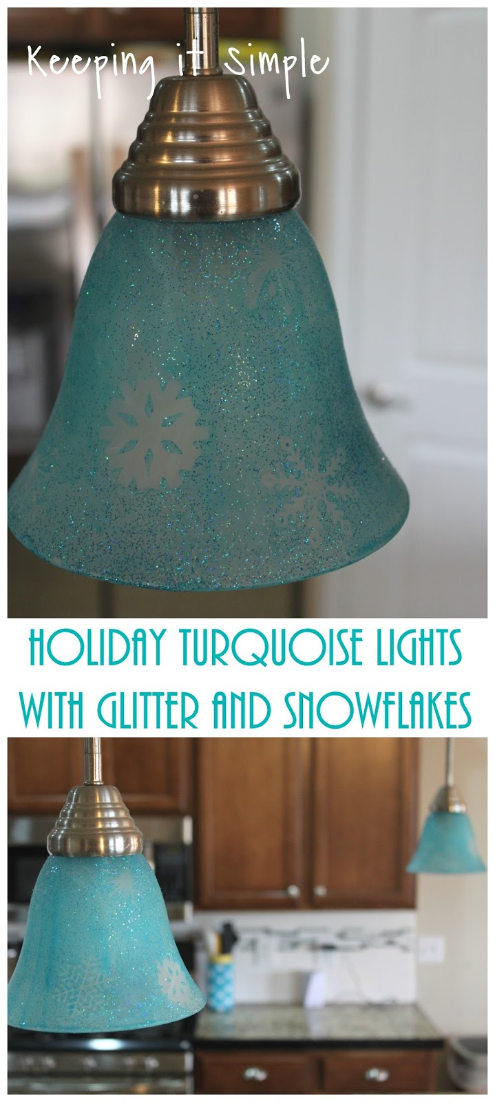 Holiday turquoise lights with glitter and snowflakes keeping it simple holiday turquoise lights with glitter and snowflakes aloadofball Choice Image