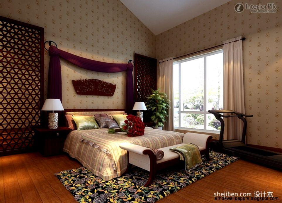 Master Bedroom Wallpaper Decoration Effect Bedroom Bedroom