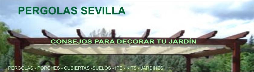 Pergolas  Sevilla - pergolas de madera