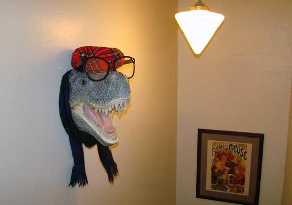 t-rex tyrannosaurus_rex hipster