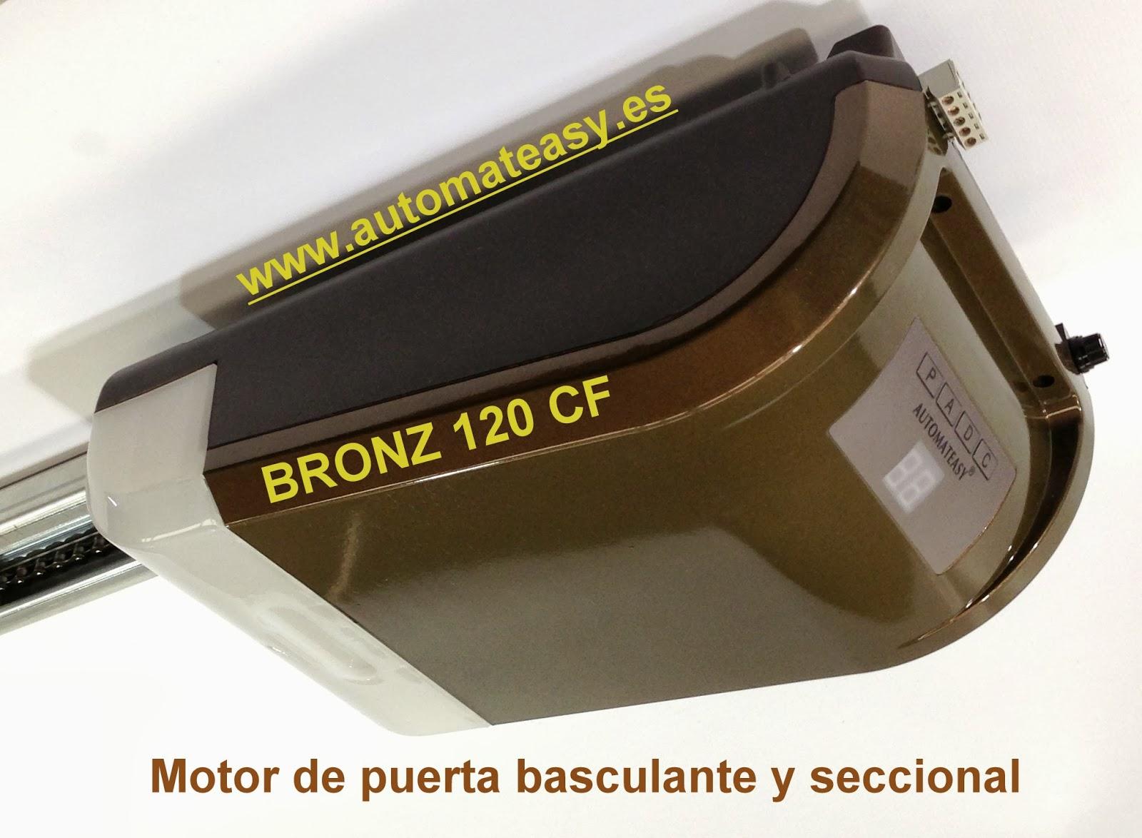 Noticias automateasy motor de puerta de garaje bronz - Motor de puerta de garaje ...