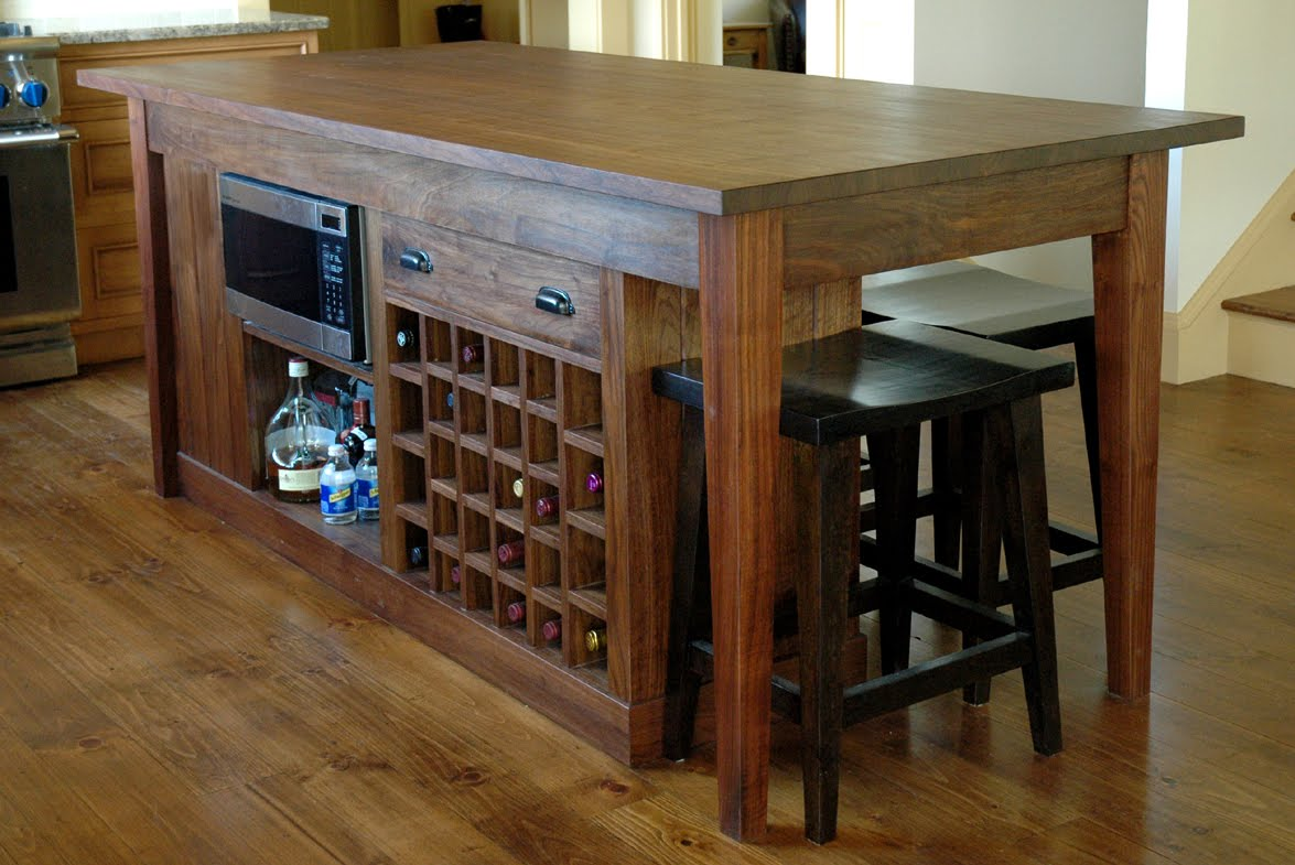 Custom Wood Kitchen Islands dorset custom furniture - a woodworkers photo journal: the kitchen