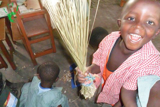 Foto dei bambini della scuola della missione in Togo