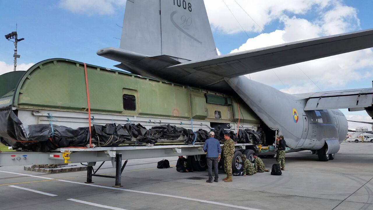 C-130 hercules fuerza armada colombia