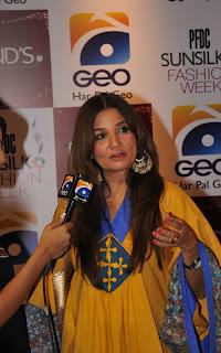 Frieha Altaf PFDC Sunsilk Fashion Week 2011   Red Carpet DAY 1 & 2