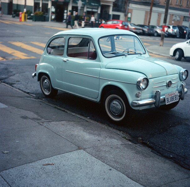 Better than Bland: baby blue Fiat