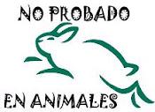 NO EXPERIMENTAN CON ANIMALES