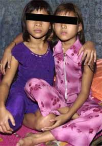 Cambodian sex slave girl
