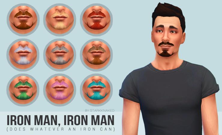 my sims 4 blog tony stark facial hair by starkknaked