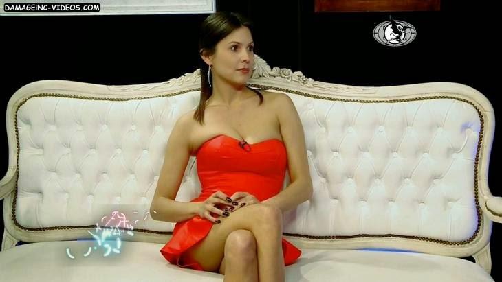 Argentina model Ursula Vargues hot cleavage HD video