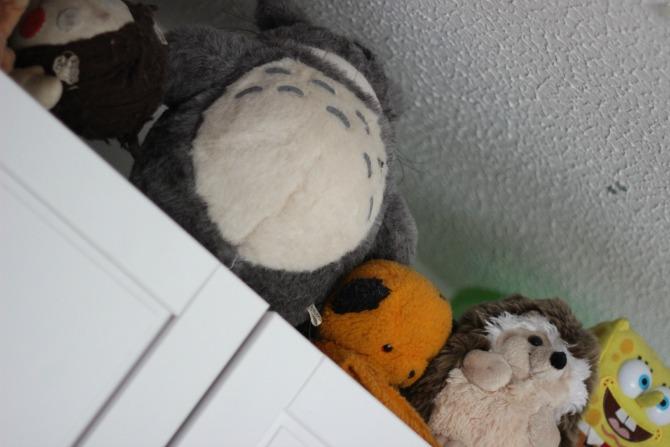 Totoro teddy bear