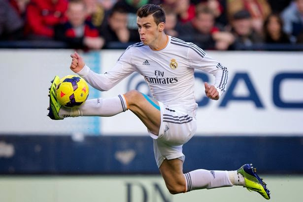 Bale to earn £2.5m for 1 weeks work