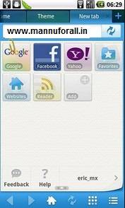 Download Maxthon Mobile Browser v2.6.1 Released Apk for Android
