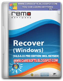 Remo Recover Windows v4.0.0.33 Pro Edition Incl Keygen Free Download