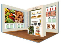 Generic food stand sample design