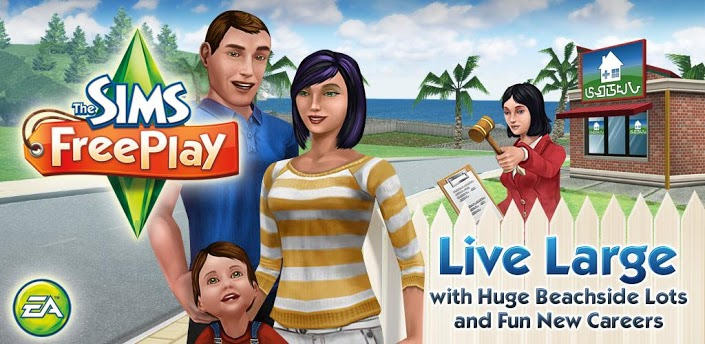 The Sims FreePlay MOD ARMv6-7 APK v2.3.13