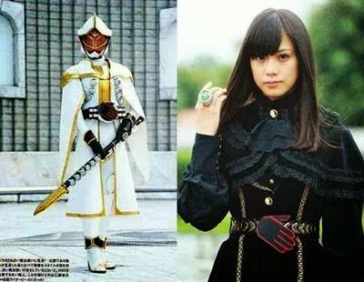 Foto Makoto Okunaka, pemeran Kamen Rider White Wizard