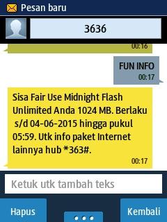 Cara Membeli Paket Midnight 5000 2GB Telkomsel Khusus Kartu AS | Update 2 Juli 2015