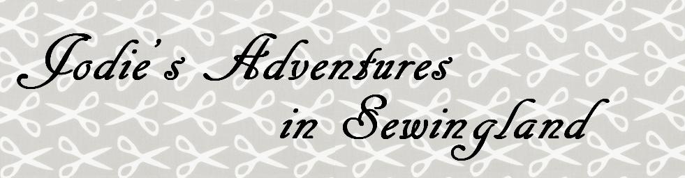 Jodie's Adventures in Sewingland