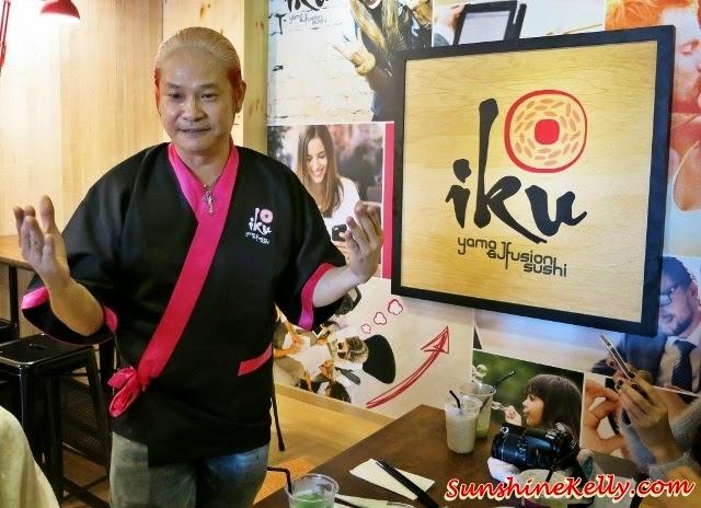 Chef Yama, co-founder of IKU Japanese Fusion Sushi