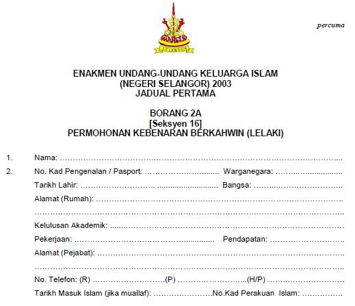 Sweetlovelifes Prosedur Perkahwinan Di Selangor