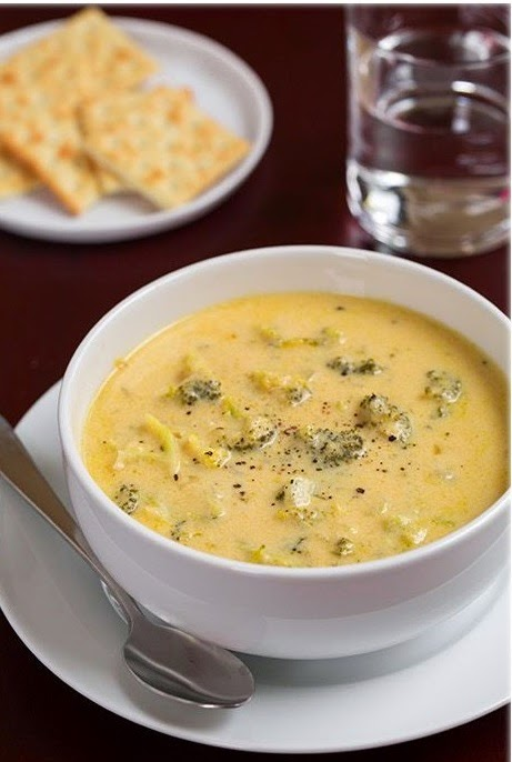 slow cooker creamy broccoli soup