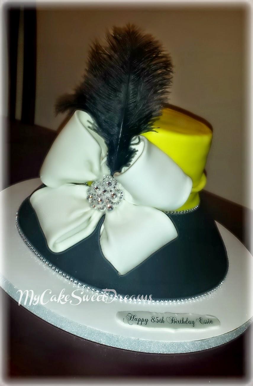 My Cake Sweet Dreams Church Lady Hat Cake