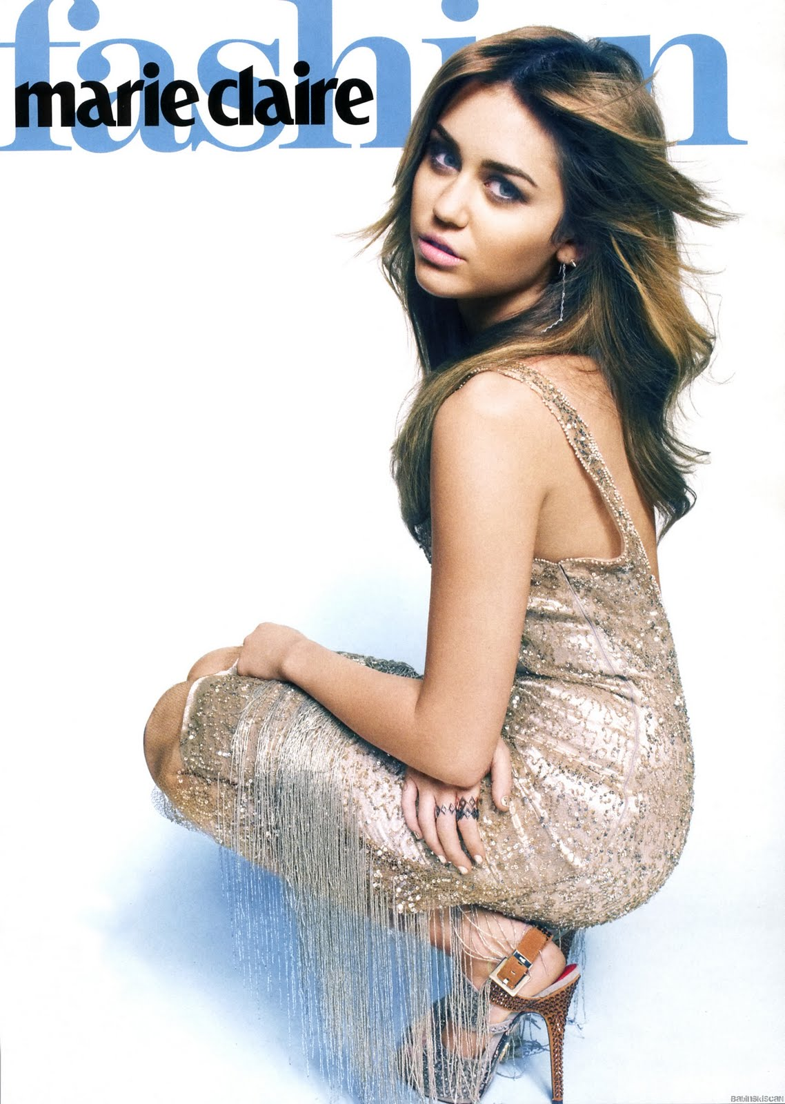 Miley Cyrus Marie Claire Magazine Wallpapers