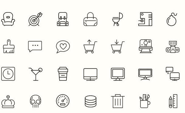 100 Free IOS8 Vector Icons (Ai)