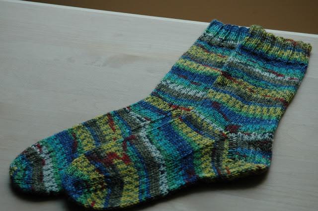 Hundertwasser Opal socks