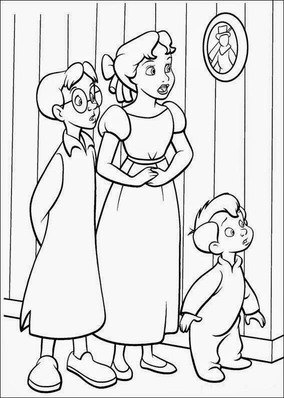 Cuentos infantiles Peter Pan para