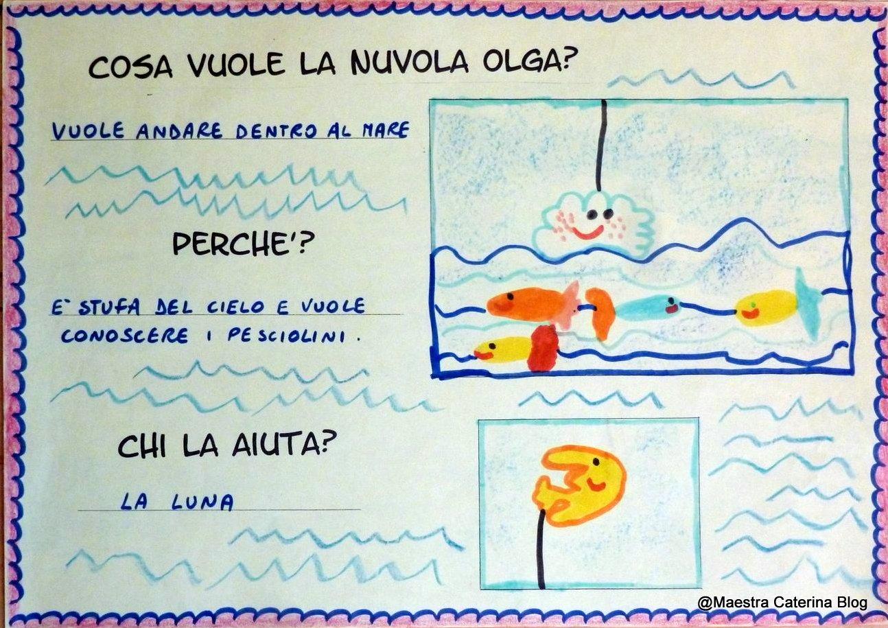 Ben noto Maestra Caterina: Laboratorio linguistico: La Nuvola Olga in fondo  CO55